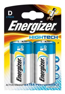 105632870 - Energizer HighTech D Batteries 2 Pack