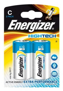 105632883 - Energizer HighTech C Batteries 2 Pack